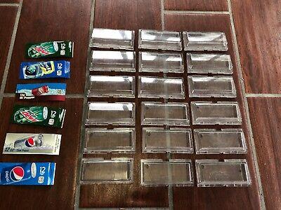 Lot Of 18 Dixie Narco 501e 368 600e 276e Selection Buttons Drink Machine Vending