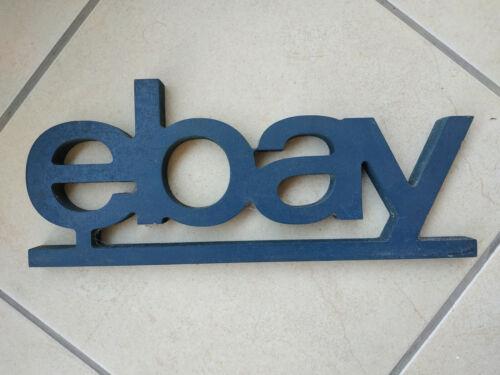 ebay Wooden Logo