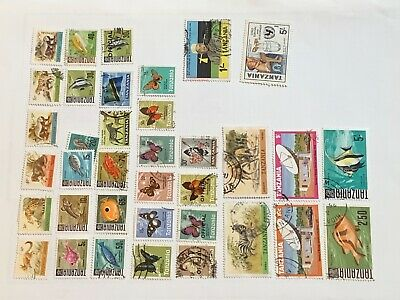 Tanzania Page Of Stamps.