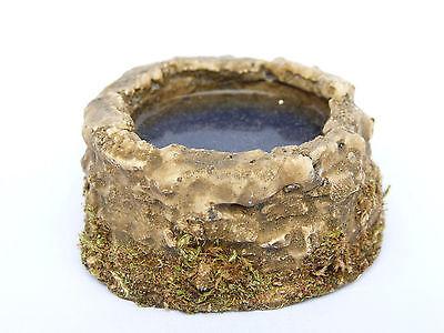 ZB17 Krippenzubehör Brunnen Alt mit Wasser für Weihnachtskrippen Krippenbau