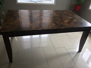 Granite table
