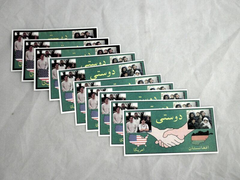 Afghanistan Propaganda Leaflet set War on Terror
