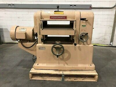 Powermatic 180 18 Wood Planer With Leeson Motor 10 Hp