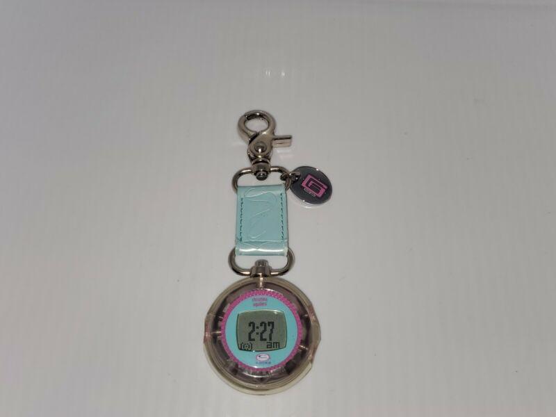 Christina Aguilera 1999 C Animated ROCKS LCD Clip Watch. NO SOUND