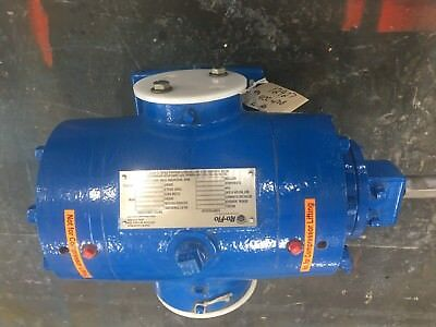 Ro-flo 4cc Bare Shaft Rotary Vane Gas Compressor Suitable For 3-20 Hp Drive