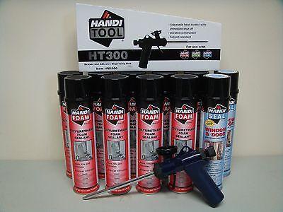 Fomo Handi Foam - 2 Window Door - 9 Gap Fill With Ht300 Gun- Its Great Stuff