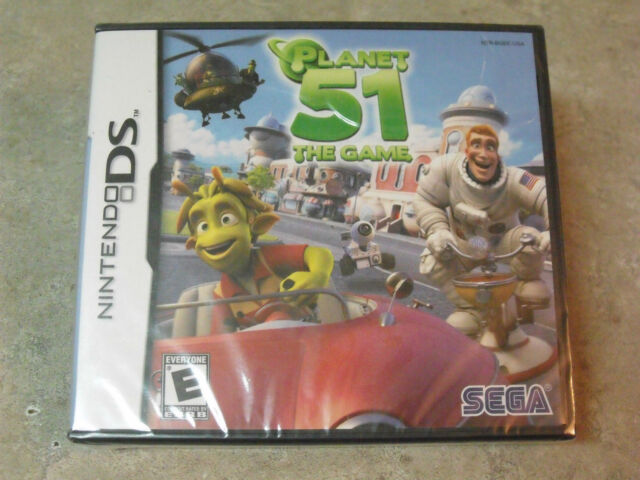 Planet 51 The Game (Nintendo DS, 2009)