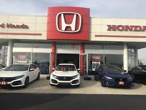 Brand New 2017 Honda Civic Type R Lease Takeover!