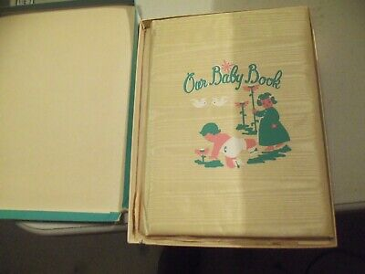 VINTAGE 1950'S BABY BOOK NOS NEW OLD STOCK