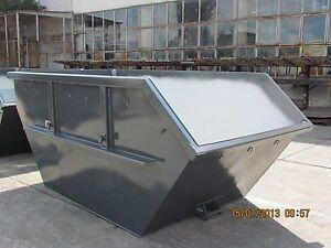Absetzcontainer Absetzmulde Bauschuttcontain 5,5m³ offen asymmetrisch DIN 30720