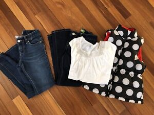 Size 8 girls jeans and tops