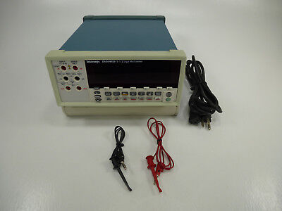 Tektronix Dmm4020 Bench-top Digital Multimeter W 5-12 Digit Dual-display