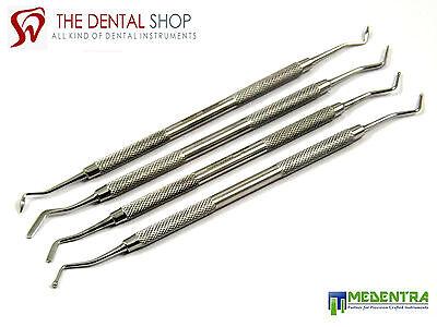 Dental Composite Filling Instrument Double Ended Set Of 4 Lab Ce