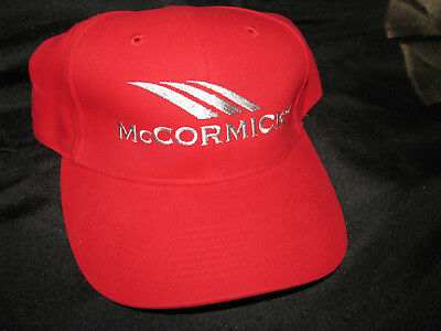 Mccormick Tractor Cap Hat Embroidered - One Size - Nwot
