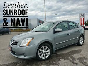 2011 Nissan Sentra 2.0 SL Navi Sunroof Heated Seats  FREE Del...