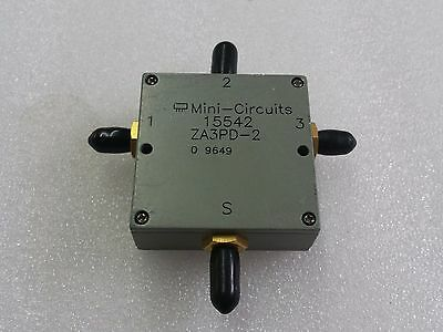Mini Circuits 15542 ZA3PD-2, 3 Way splitter/combiner, SMA, Tested
