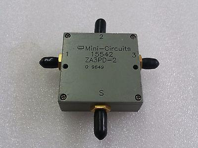 Mini Circuits 15542 ZA3PD-2, 3 Way splitter/combiner, SMA, Tested