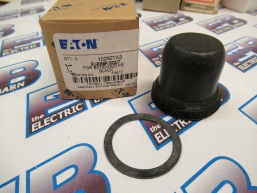 Cutler Hammer 10250TA3, Series A3, Black Rubber Boot- NEW-B