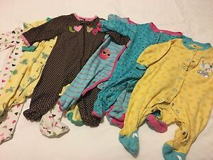 6pc Sleepers (Size 6M)