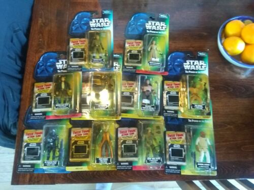 Lot of 10 Star Wars The Power Of The Force: Freeze Frame Figures new not perfect