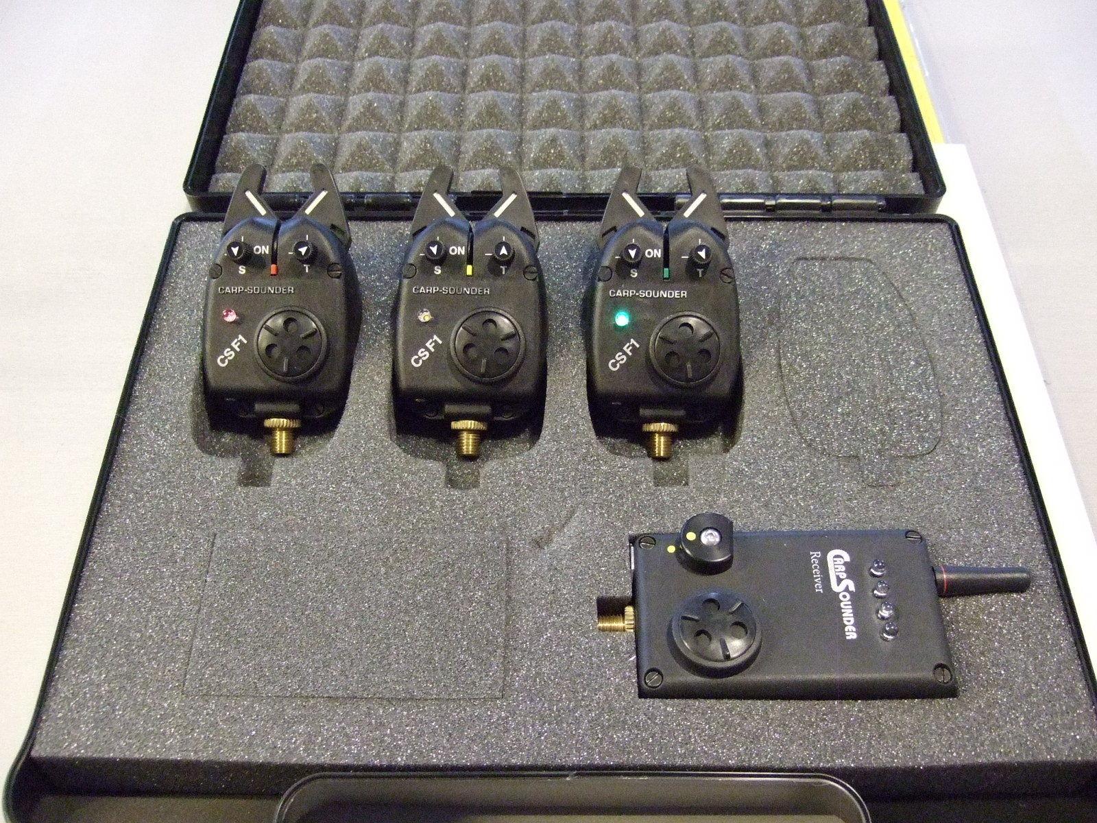 FOX MK2 Illuminated Swinger 3er Set black Pendelbissanzeiger für Karpfenangler