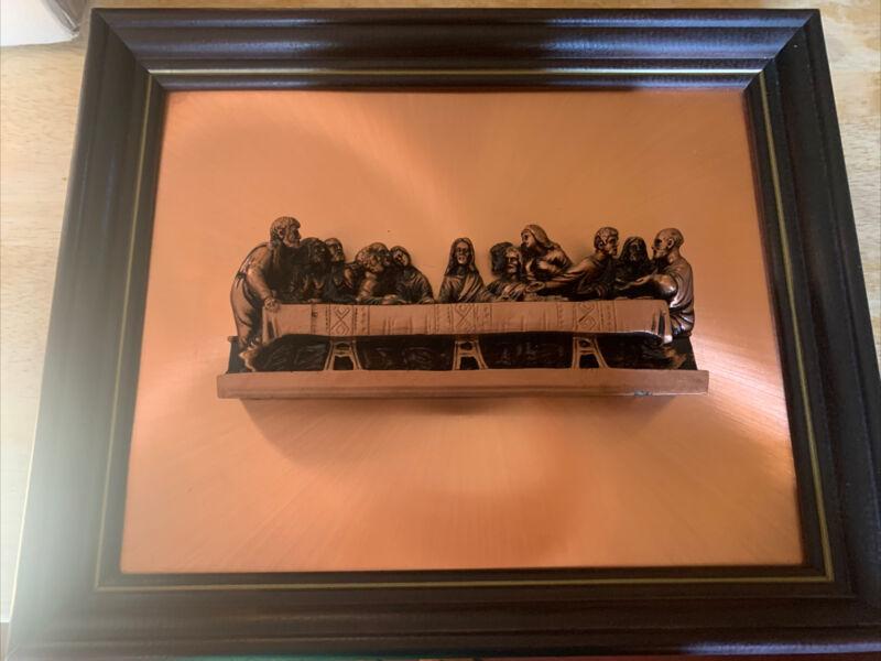 The Last Supper 3D Copper Picture