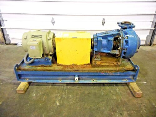 "RX-3640, METSO MM150 LHC-D 6"" x 4"" SLURRY PUMP W/ 15HP MOTOR AND FRAME"
