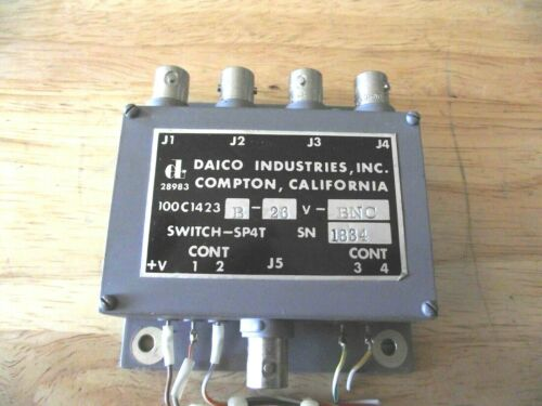 DAICO INDUSTRIES, INC. SWITCH - SPAT BNC