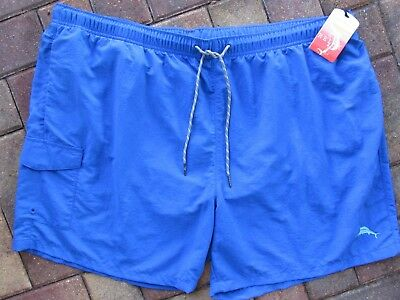 TOMMY BAHAMA Swim Trunks NAPLES HAPPY GO CARGO sz 4XB ELECTRIC  BLUE  $75.00