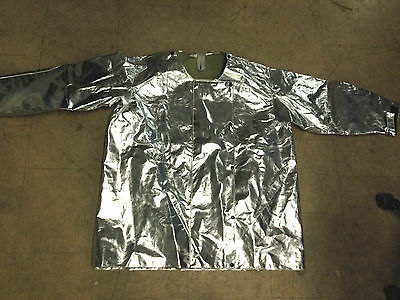 Steel Grip Aluminized Jacket Heat Resistant Size Small Lg 2xl Ac8 2655-35b