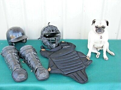 Youth Baseball Catchers Protective Gear Set Small Rawlings All-Star Schutt
