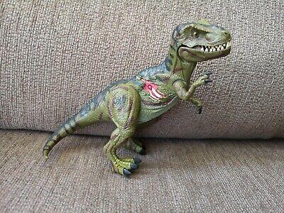 Toy Figure JURASSIC PARK 3 T-REX Dinosaur 2001 Tyrannosaurus Rex JP 3 Vintage