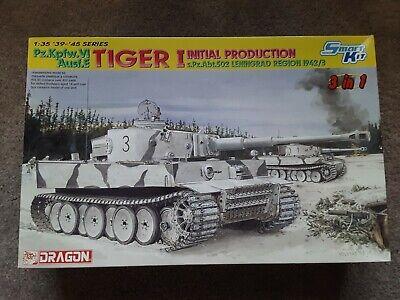 Dragon 1/35 Pz. Kpfw. VI Ausf. E Tiger I Initial Production s.Pz.Abt.502 Tank 42 Initial Production Tank