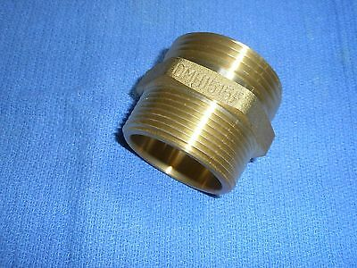 1-1//2 NPT Male x 1-1//2 NPSH Male 1-1//2 NPT Male x 1-1//2 NPSH Male Dixon Valve /& Coupling Reducer Hex Nipple Dixon Valve DMH1515 Cast Brass Fire Equipment