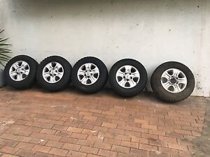 Toyota Landcruiser Alloy wheels & tyres North Ryde Ryde Area Preview