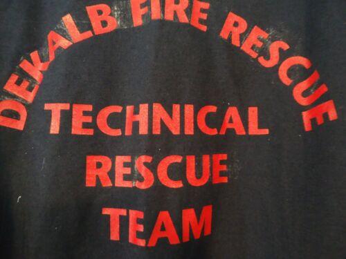 Dekalb County Fire Rescue Technical Rescue Coveralls Jumpsuit 48R Rare