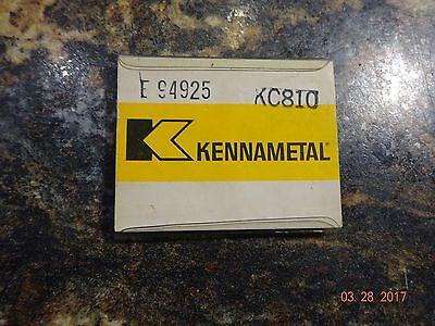 Kennametal Kc810 Carbide Inserts - New
