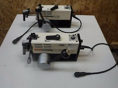 Schleuniger Fo7020 Fiber Fibre Optic Wire Kevlar Strip Machine Fo7020