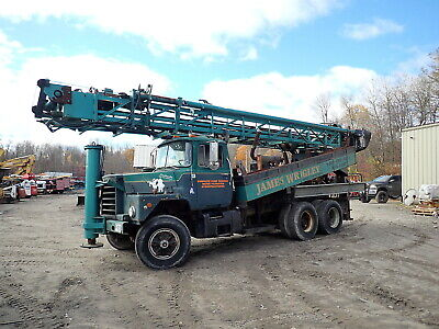 1983 Chicago Pneumatic Cp650 Well Drilling Rig Mack Dm688 Truck Cp-650 Drill