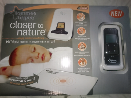 Tommee tippee baby monitor and sense