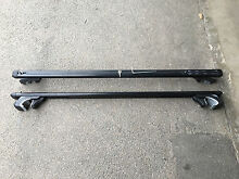 Roof rack a pair black aluminium Melrose Park Mitcham Area Preview