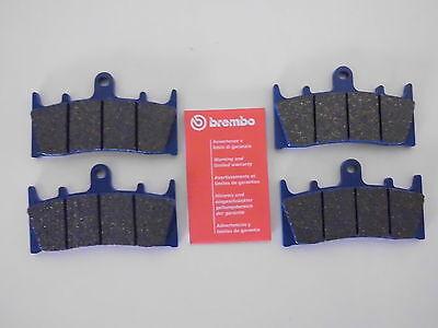 Brembo Bremsklötze Bremssteine vorne komplett Kawasaki ZX-6R / ZX-9R / ZX-12R