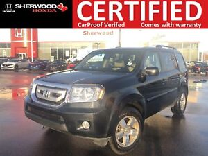2011 Honda Pilot EX-L 4X4|REMOTE START|HOMELINK|HEATED LEATHER