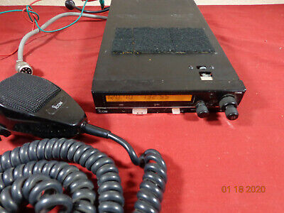 Icom Ic-a200 King Vhf Avionics Aircraft Tower Mobile Radio W Tray Palm Mic