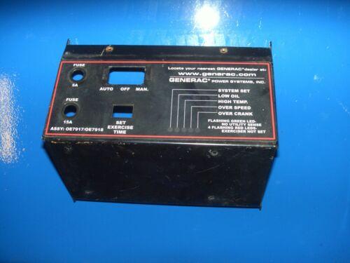 Generac Control Cover Plate (short)