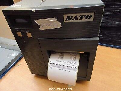 """SATO CL408E Parallel Thermo Label Drucker REWINDER 203dpi 4.1"""" 104mm - 46458.3 M"""
