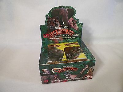 1993 2 BOX San Diego Zoo Animals of the Wild Trading Card 36 Pack Factory sealed