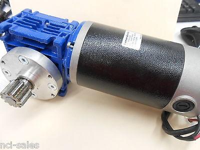 Exmek Electric Mb080fg220 Motovario Nmrv030 801 Right Angle Gear Reducer