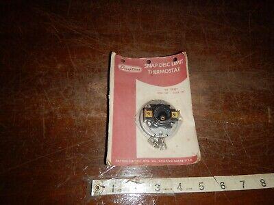Dayton Snap Disc Limit Thermostat 2E249 close150  open at 130 degrees surplus