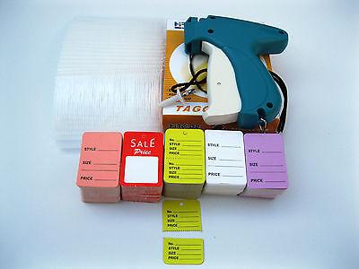 Tagging Gun + 1000  Clear Barbs + 500 SALE PRICE TAG